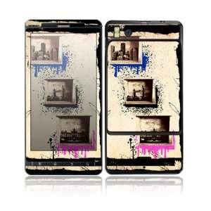 World Traveler Design Decorative Skin Cover Decal Sticker for Motorola