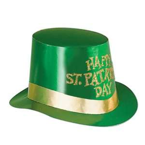 St Patricks Day Foil Hi Hat Case Pack 100   677821
