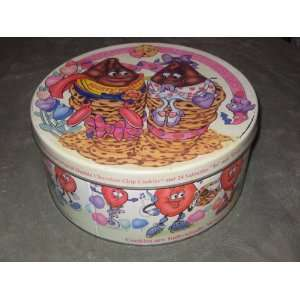 Mighty Morsels & Morselette Happy Valentines Day Cookie Tin   10 x 4 1