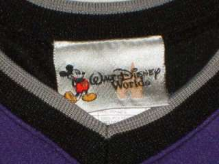 Walt Disney World Size 12 Months Purple Mighty Mickeys Hockey Jersey