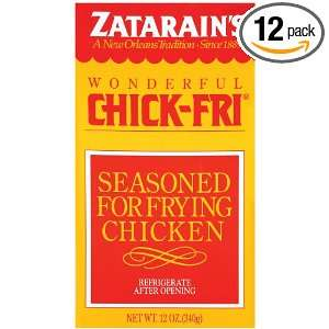 ZATARAINS Fry, Chick, 12 Ounce (Pack of 12)  Grocery