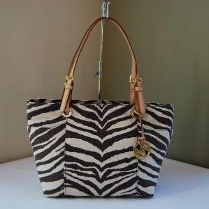 Michael Kors Jet Set Item Tote Tiger