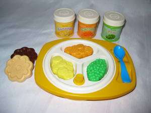 Fisher Price Fun with Food Babys Mealtime Baby Set 3