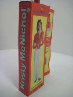 KRISTY McNICHOL 1975 MEGO Doll Action FIgure w/ box NRFB WGSH teen