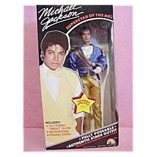 Michael Jackson Barbie Doll Superstar of the 80s Grammy Awards Outfit