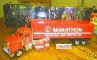 1998 MARATHON OIL BOX TRAILER TRUCK 3 BARRELS CREDIT