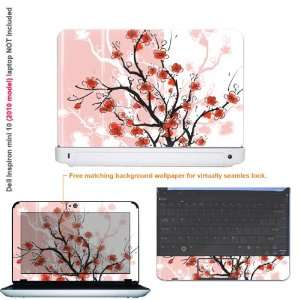 Protective decal sticker for Dell Inspiron 1012 case cover 10mini10 21