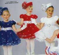Pageant Jazz skate twirl lyrical ballet Dance Costume