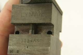 LYMAN 311466 DOUBLE CAVITY BULLET MOLD