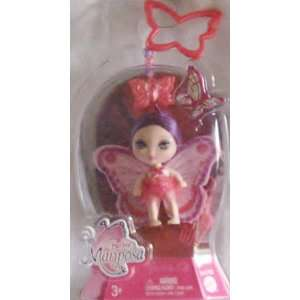 Barbie Mariposa Lavender Hair Butterfly Fairy Doll