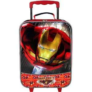 Marvel Iron Man 2 Rolling Pilot Case Toys & Games