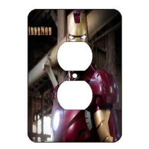 Iron Man Light Switch Outlet Covers