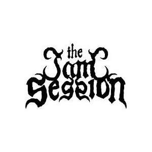 THE JAM SESSION BAND WHITE LOGO VINYL DECAL STICKER