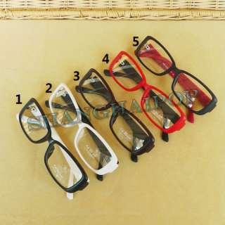 Clear Lens Glasses Slim Frame Party Costume Men Nerd Geek Fashion