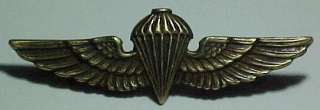 WW2 USMC *Para Marine* Jump Wing 1/20 10K ON STERLING