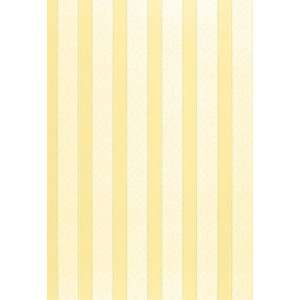 Wallis Stripe Jonquil by F Schumacher Wallpaper