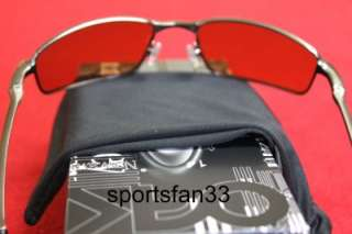 NEW Oakley Square Wire Sunglasses Brushed Chrome/VR28. 100% Authentic