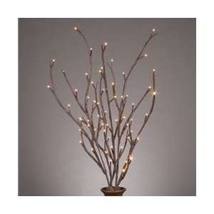 39 in. LED Lighted Brown Branches, Battery Op set of 2