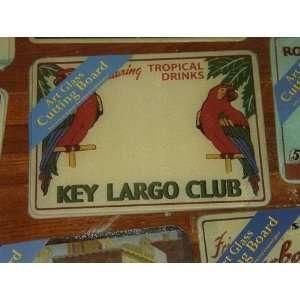 Art Glass Cutting Board  Key Largo Club