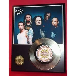 KORN GOLD RECORD LIMITED EDITION DISPLAY