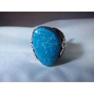 Native American Mens Ring Sterling Silver Navajo Ring Size