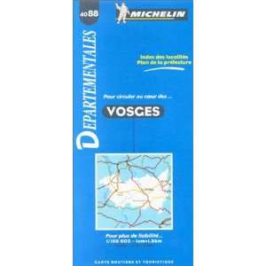Michelin Vosges, France Map No. 4088 (Michelin Maps