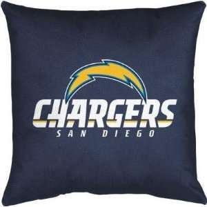 San Diego Chargers 17x17 Locker Room Decorative Pillow