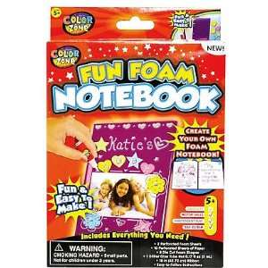 Kids Fun Foam Notebook Craft Kit Arts, Crafts & Sewing