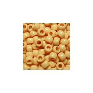 Plastic Pony Beads 6x9mm, Super Value Pack, 390g, about 1500 beads