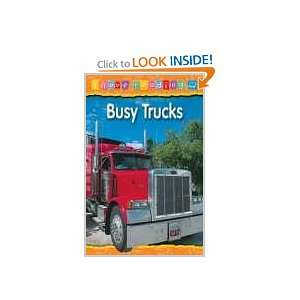 Busy Trucks Blue Reading Level (I Love Reading