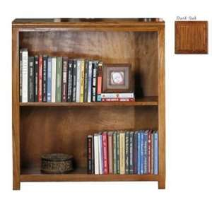 Coastal 23336NGDK 36 in. Open Bookcase   Dark Oak