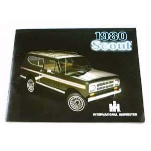 1980 80 IH International SCOUT Truck BROCHURE II Terra
