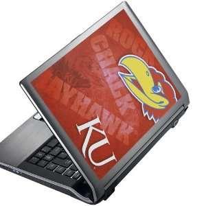 NCAA Kansas Jayhawks 8 x 10 Peel & Stick Laptop Art
