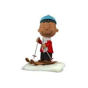 Peanuts Charlie Brown Christmas Franklin Action Figure  Toys & Games