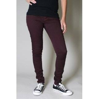 Tripp NYC Juniors / Paint it Black Skinny Jeans / Pants in Red