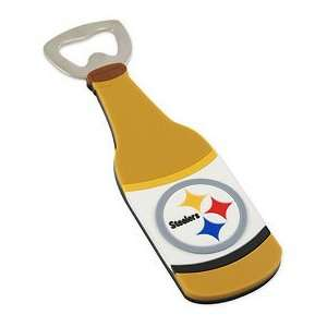 Pittsburgh Steelers PVC Magnetic Bottle Opener: Sports & Outdoors