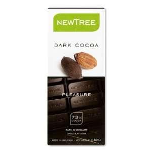 NEWTREE Pleasure 73% Cocoa, Pure Dark Chocolate Bar, 2.82 Ounce Bars