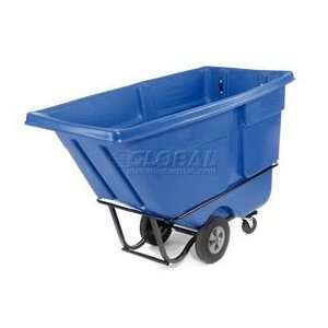 Duty 1 Cu. Yd. Garbage & Trash Blue Tilt Truck Home & Kitchen