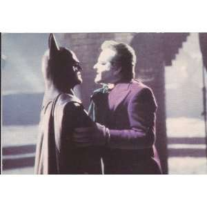Michael Keaton as Batman Postcard   RARE   4 x 6