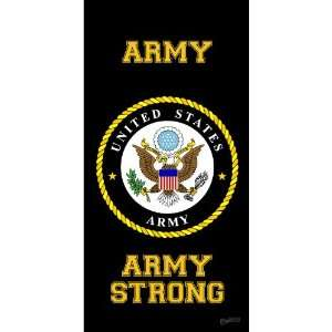 Army United States Armed Forces Military Beach Towel