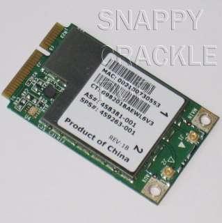 HP Compaq 2230s 6530b 6730b 6735s 6830s Wireless Card