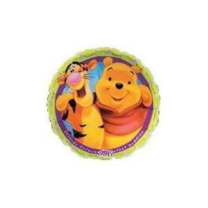 18 Winnie Pooh & Tigger Friends Forever   Mylar Balloon