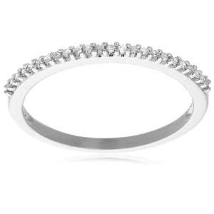 Gold Diamond Band (1/10 cttw, I J Color, I3 Clarity), Size 5 Jewelry