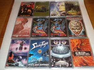 METAL   HARD   ROCK   12 Cassettes   Limited RUSSIA