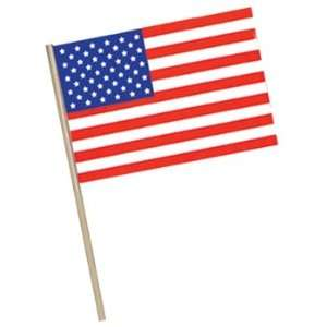 American Flag   Plastic (w/7? wooden dowel) Party