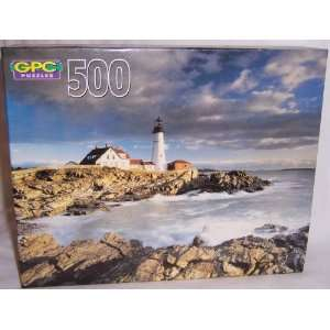 Portland, Maine (Scenic Scape Series)   500 Piece Jigsaw Puzzle Toys