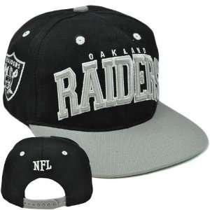 NFL Team Apparel Oakland Raiders SB400 Flat Bill Snapback