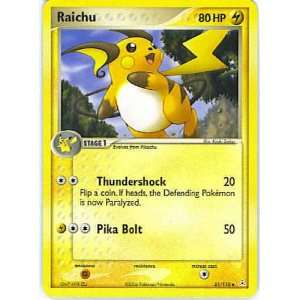 Pokemon   Raichu (51)   EX Holon Phantoms: Toys & Games