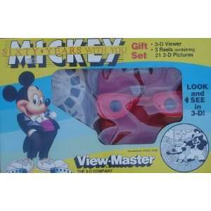 Mouse 60th Annivarsary View Master With 3 Reels