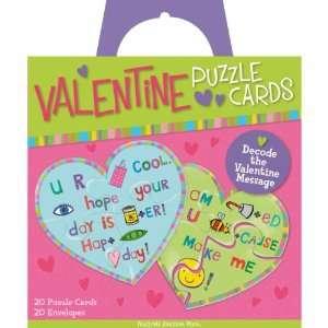 Peaceable Kingdom / Valentine Puzzle Cards Toys & Games